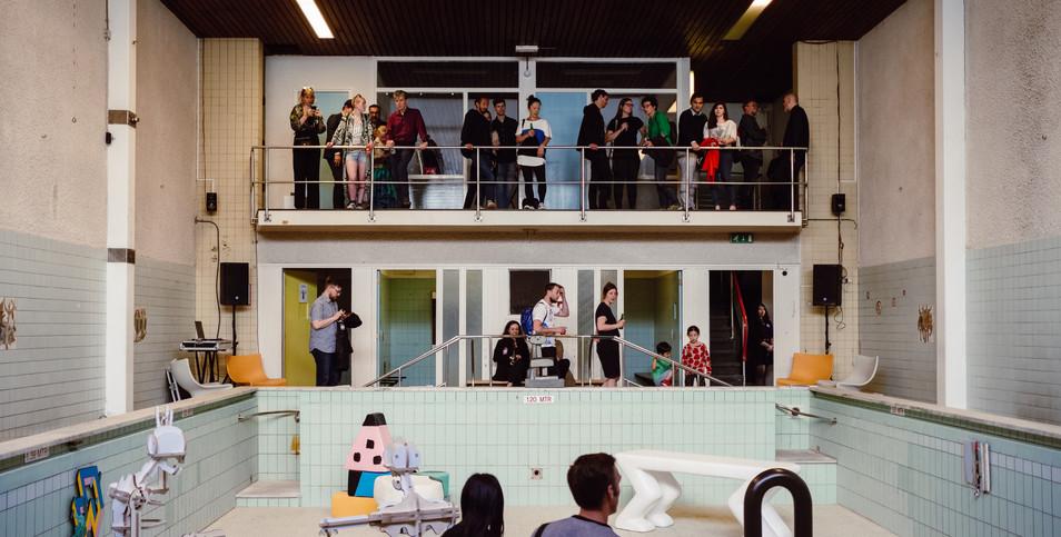 Living Pool Opening