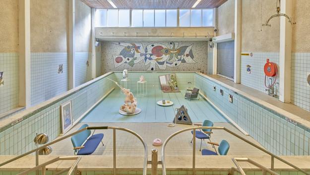 """""""Living Pool"""" setup."""