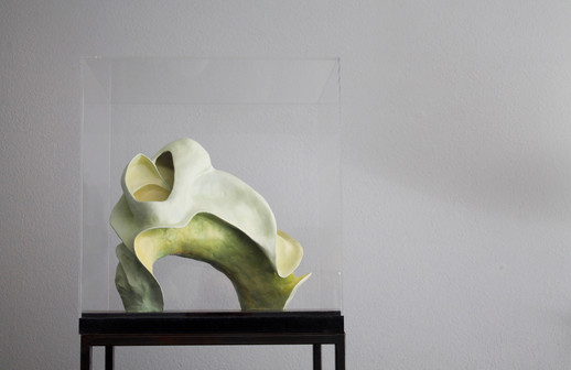 Blossom in green 50x54x50cm