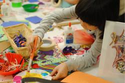 Child in Art Class