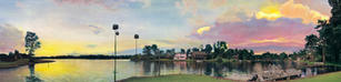 Sally Edwards. Lakeview Panorama. acrylic. 12x48 in. $750.jpg