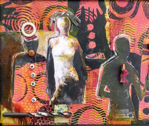 Lesley Silver. Another Layer Gone. mixed media. 10x12 in. $350.jpg