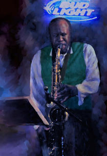 Freddy Norman. After Hour Jam Session. digital paint. 13x19 in. $500.jpg