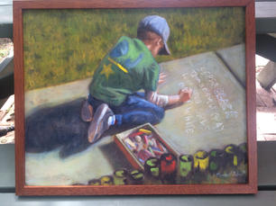 Marshall Polson.  Knox_s World. oil on canvas. 16x20 in. $1,500.jpg