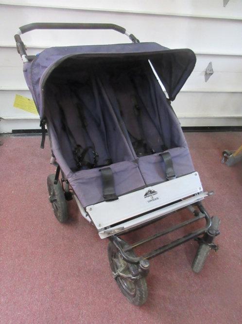 Urban Mountain Buggy double stroller - navy