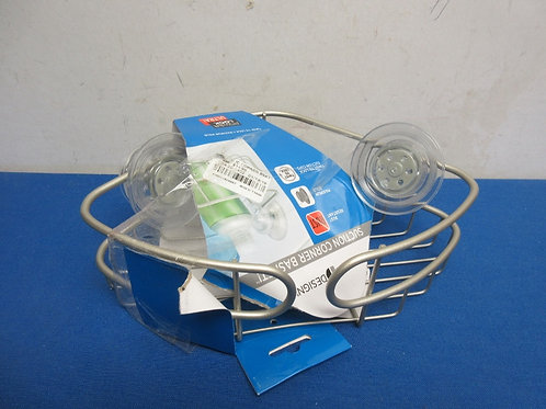 Powerlock ultra suction corner basket for bathroom-New