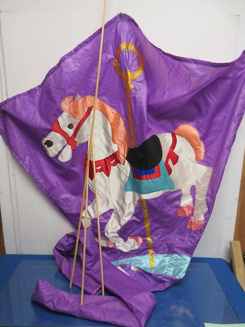 Purple Unicorn Kite