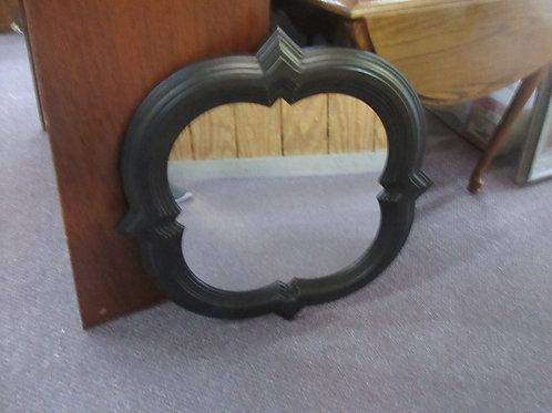 Better Homes 21x21 black plastic frame wall mirror