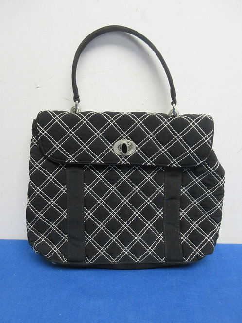 Vera Bradley black and white purse