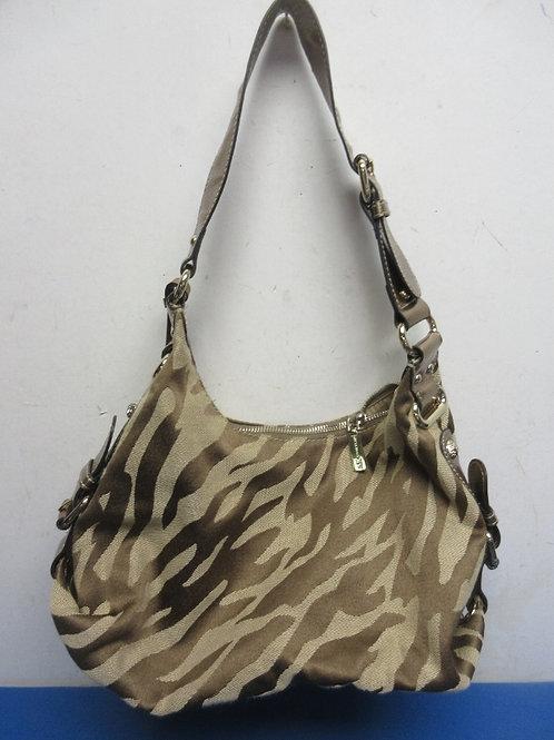 Anne Klein animal print, small hobo style purse