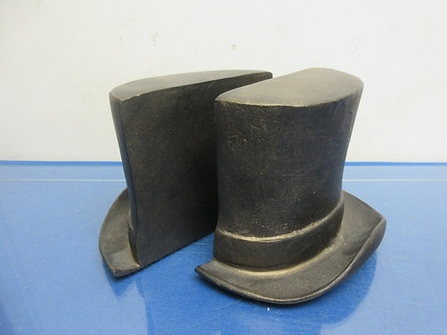 Pottery Barn top hat design style heavy bookends