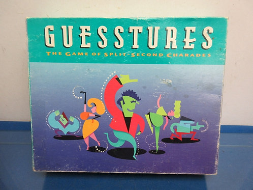 Guesstures board game, 4# players