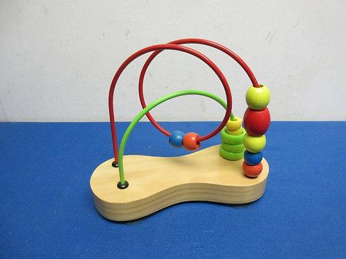 Small bead maze toy