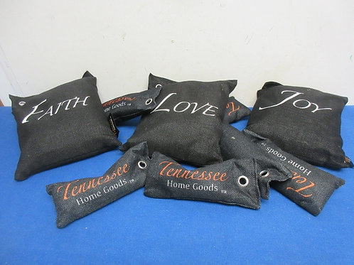 Set of 9 Tennesse home goods charcoal air purifing bags