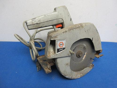 Vintage Black and Decker circular saw