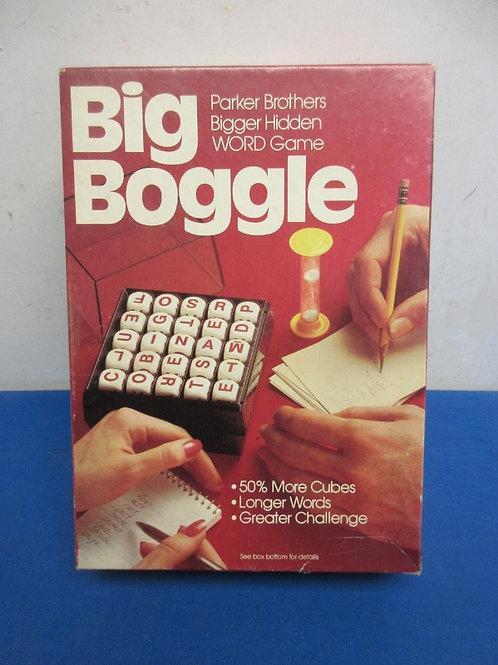 Parker Bros Big boggle game