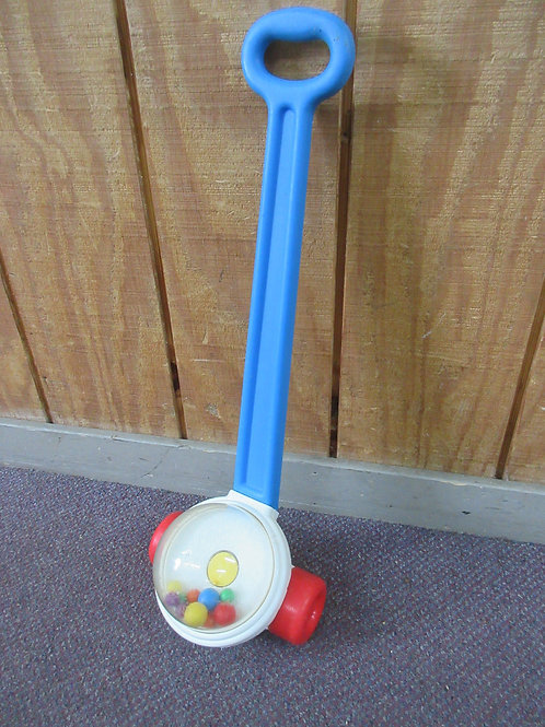 Fisher Price push along pop-it toy