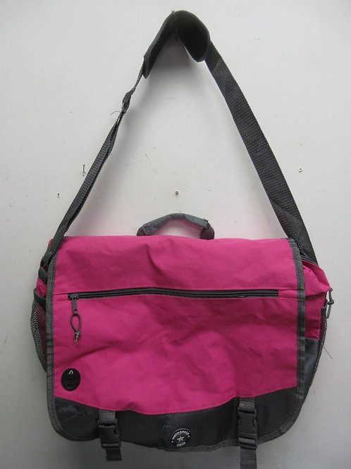MetroPack Gear, pink & gray back pack