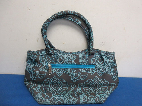 Tupperware blue and black insulated lunch bag