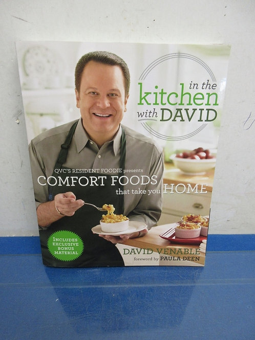 """In the Kitchen with David""""back around the table paperback,"""