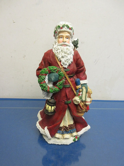 "Resin old world Santa-11"" tall"