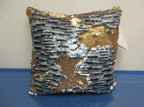 Rainbow sequin pillow, 2 available