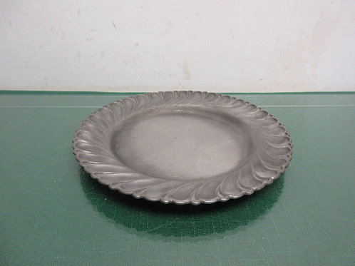 Silver(95% ) round candle plate