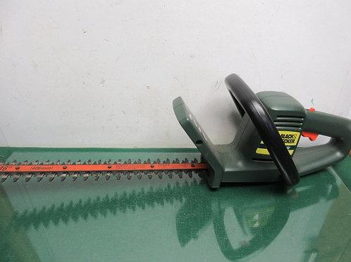"Black & Decker 16"" electric hedge trimmer"