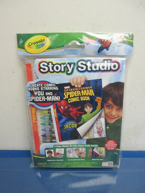 Crayola Story Studio, Spiderman-book kit