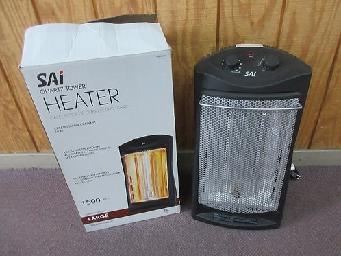 Sai quartz tower heater, 1500 watts