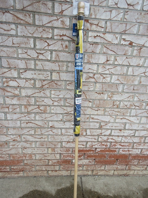 Pirate vertical flag & pole,with  2 position flagpole bracket, New/sealed in Pkg