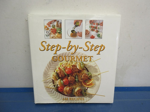 Step by Step Gournet cookbook