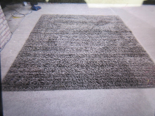 """Thomasville marketplace shag style area rug - charcoal brown - 7'10""""x10'"""