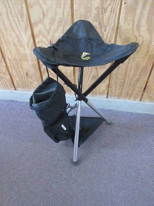 Pack Seat black folding tripod seat in carry bag,  2 available