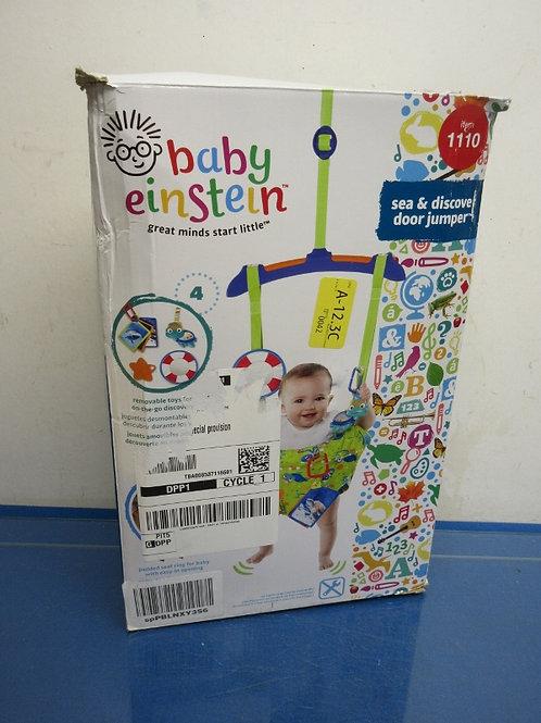 Baby Einstein see and discover door jumper
