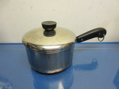 Revreware stainless copper bottom small saucepan with lid