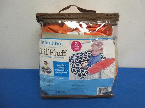 Infantino lil fluff shoppingcart / high chair cover