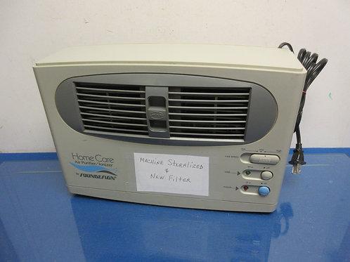 Home care sound design air purifier/ionizer