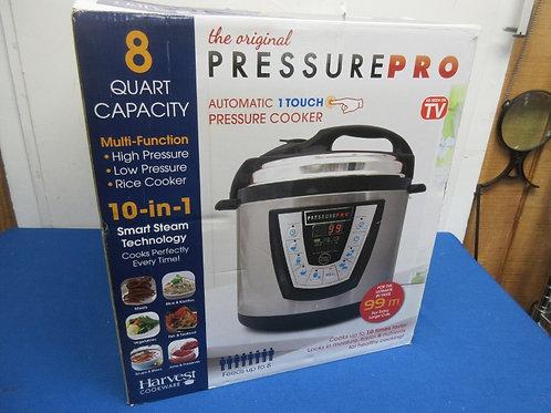 Pressure pro-8qt electric pressure cooker
