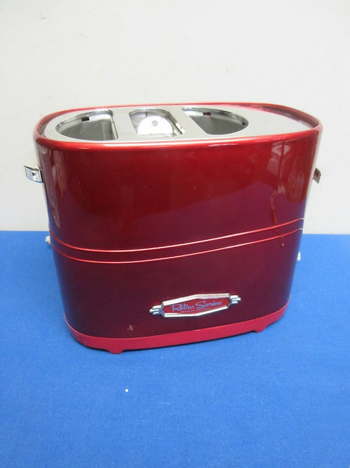 Nostalia electric pop up hot dog & bun toaster