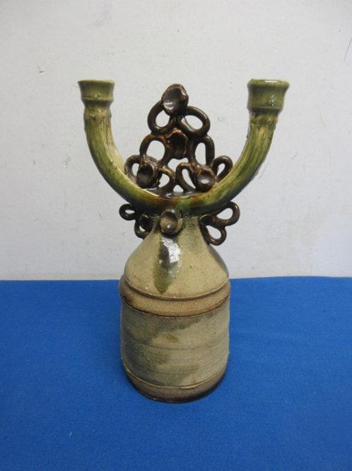 Ceramic jug style candle holder