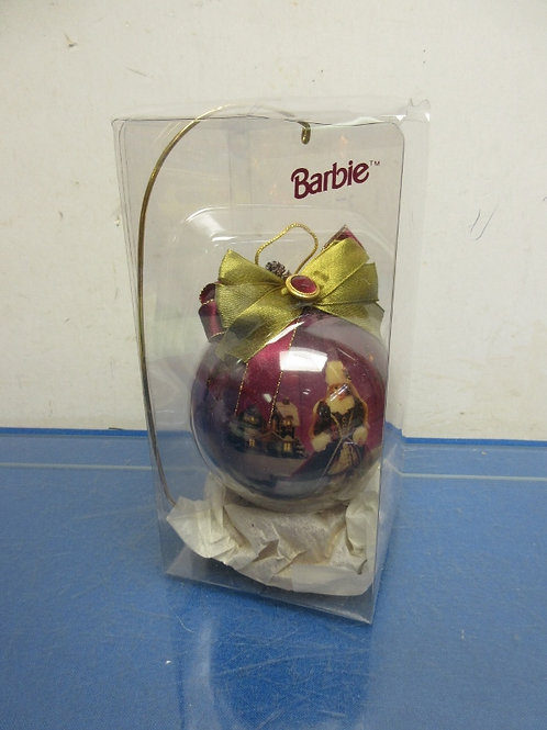 Barbie Collectable ornament with display hanger, New