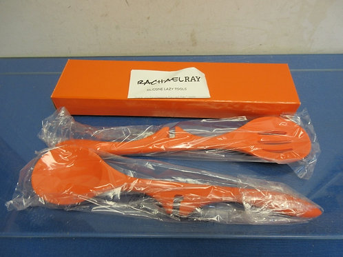 Rachael Ray silicone lazy tool collection, 2pc set, orange