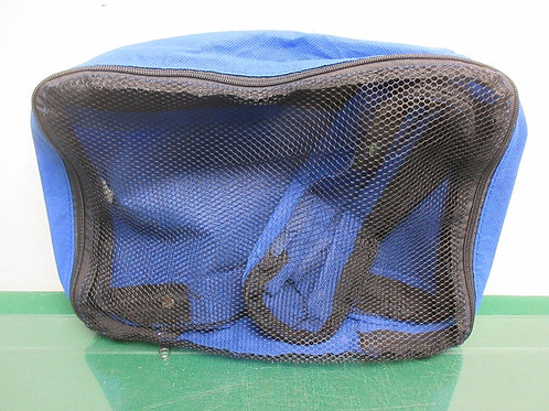 Blue cloth and mesh organizer set, large and small 2pcs