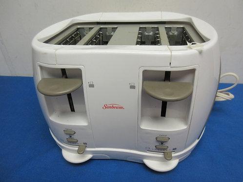 Sunbeam 4 slice toaster