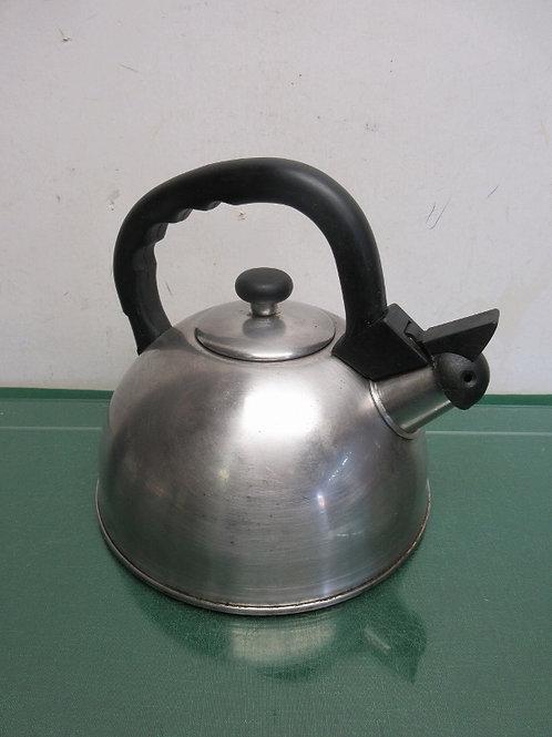 Stainless whistling tea kettle