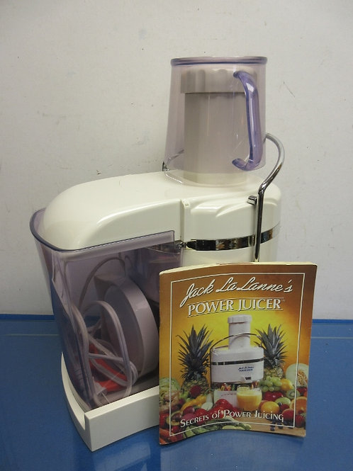 Jack LaLanes power juicer, juice machine