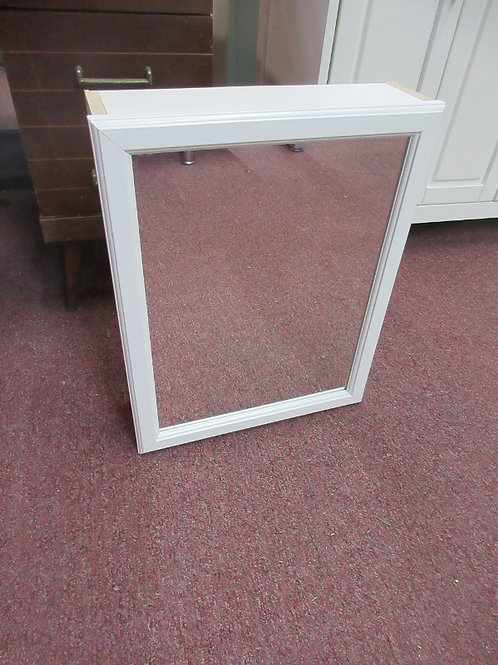 """White surface mount medicine cabinet with mirror on door 15x19.5x4.5"""""""