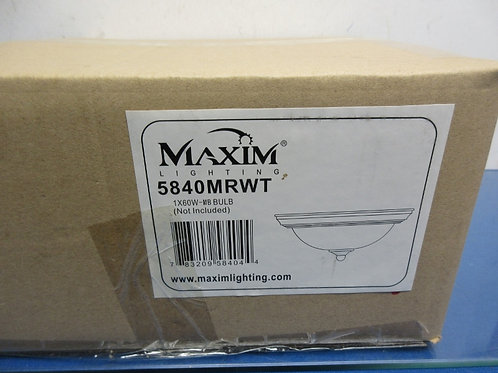 Maxim Lighting ceiling fixture #5840-1x60 watt bulbs