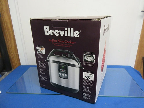 Breville - the fast slow cooker- 6qt pressure cooker & slow cooker